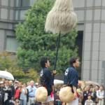 徳川城使上洛列